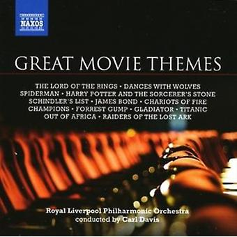 Great Movie Themes [Davis Rlpo] by Various Composers