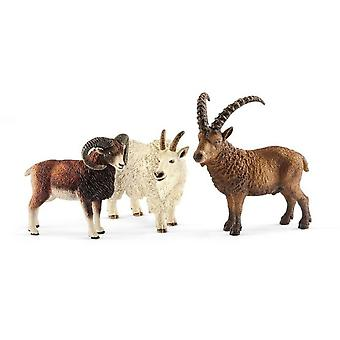 Schleich Animales De La Montaña (Toys , Dolls And Accesories , Miniature Toys , Animals)