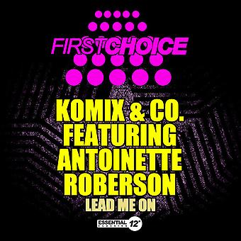 Komix & Co Featuring Antoinette Roberson - Lead Me on [CD] USA import