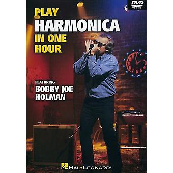 Mondharmonica spelen in één uur [DVD] USA import