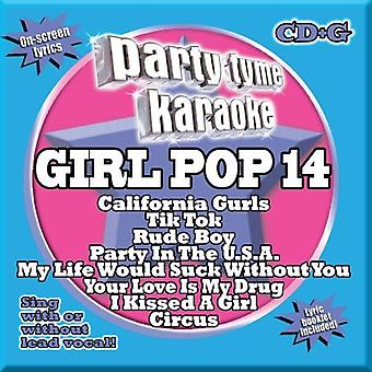 Party Tyme Karaoke - part Tyme Karaoke: Vol. 14-pige Pop [CD] USA importerer