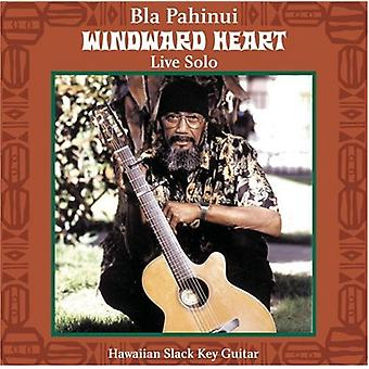 Bla Pahinui - Windward hjerte: Live Solo [CD] USA import