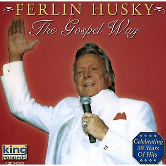 Ferlin Husky - evangeliet Way [DVD] USA import