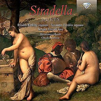 Kirkby, Emma Susanne Ryden - Stradella: Importazione duetti [CD] Stati Uniti d'America