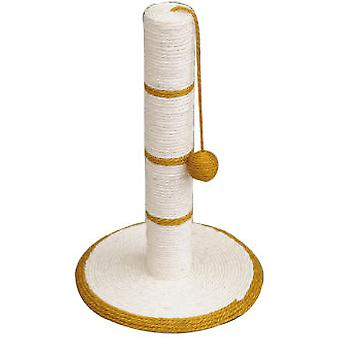Arquivet Scraper White / Gold With Ball 30 * 30 * 46 Cm (Koty , Zabawki , Drapaki)