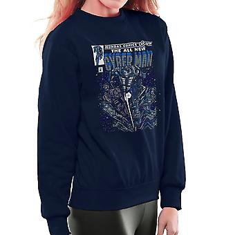 CYBERMAN Doctor Who klassieke komische vrouwen Sweatshirt