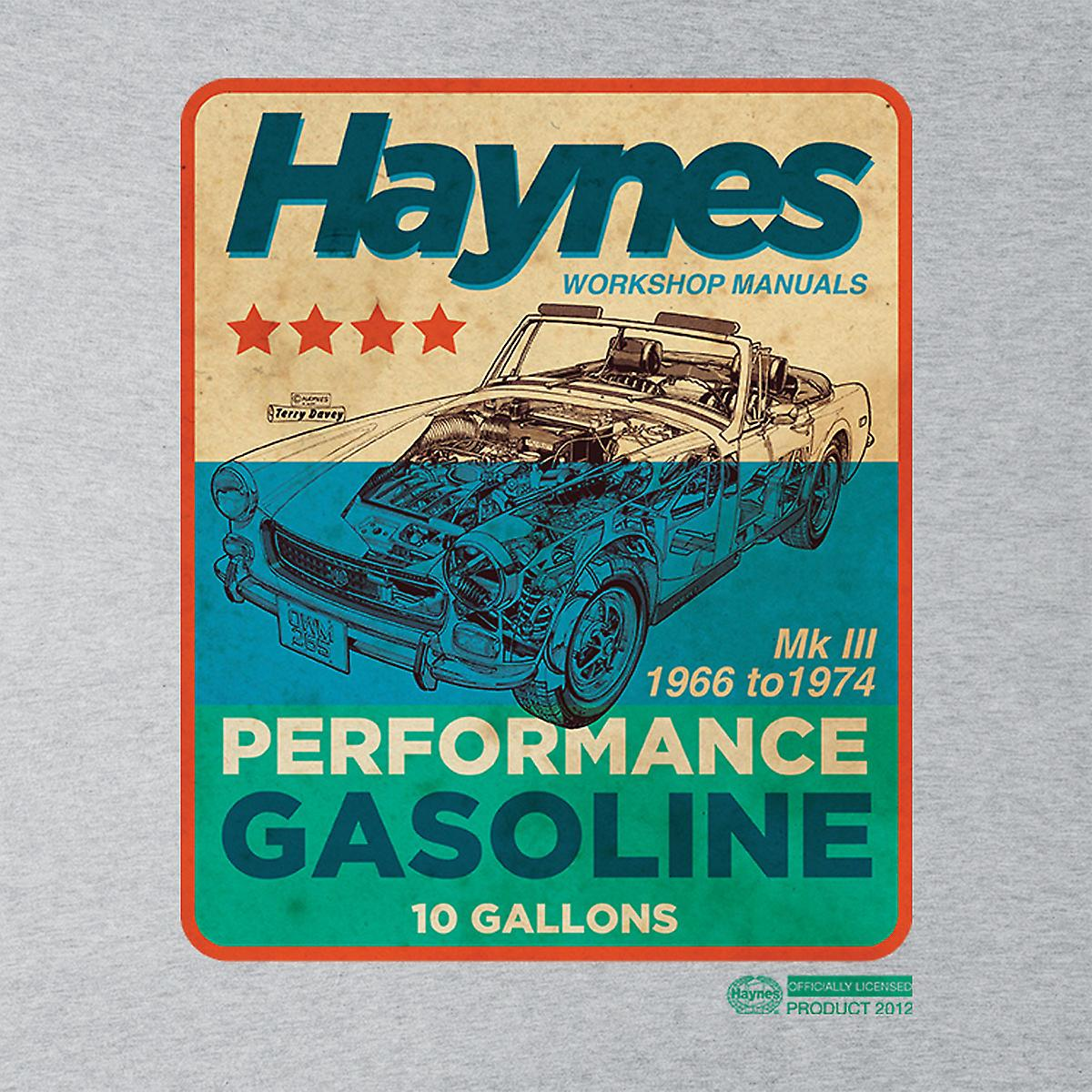 Haynes MG MGB Performance Gasoline Men's T-Shirt