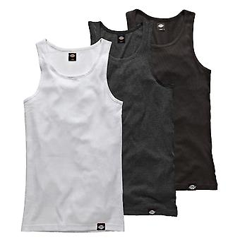 Dickies bevis 3 Pack Tank Tops - hvid / sort / grå