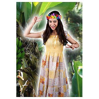Kvinder kostumer kvinder Hippie kjole med blomster