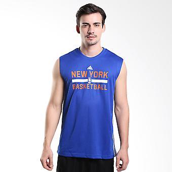 ADIDAS NBA New York Knicks Basketball Reversible Tank [blau/grau]