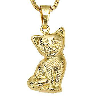 Children pendants for Necklaces Pendants cat 333 / - yellow gold (without chain)
