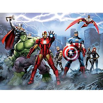 The Avengers Big Decoration Mural