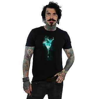 Harry Potter Men's Stag Patronus Mist T-Shirt
