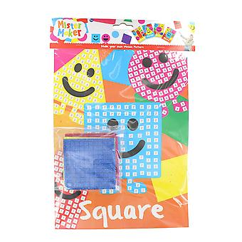 Children's Arts & Crafts Mister Maker Make Your Own Mosaic Picture - Square