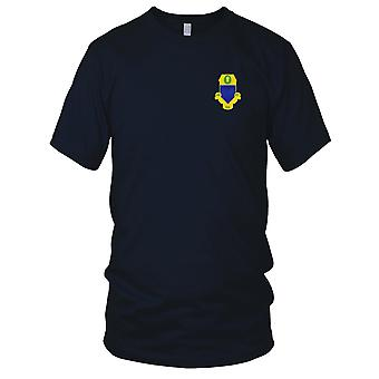 US Army - 347th Infantry Regiment Embroidered Patch - Mens T Shirt