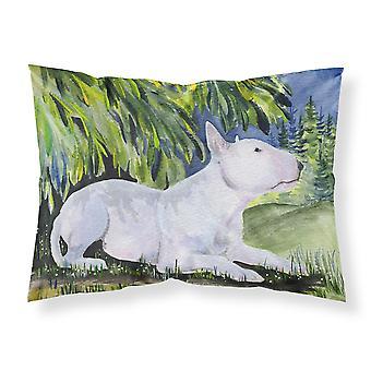 Carolines Treasures  SS8266PILLOWCASE Bull Terrier Moisture wicking Fabric stand