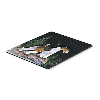 Carolines Treasures  SS8500MP Starry Night Fox Terrier Mouse Pad / Hot Pad / Tri