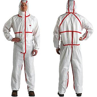 3M 4565Ws 3M 4/5/6 Small Coverall White Red Type