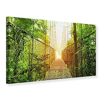 Canvas Print Suspension Bridge