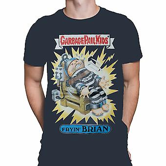 Garbage Pail Kids - FRYIN' BRIAN T-Shirt . Officially Licensed Merchandise
