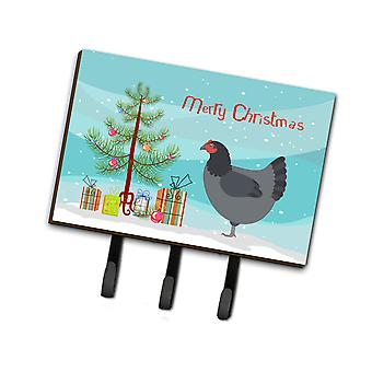 Jersey Giant Chicken Christmas Leash or Key Holder