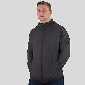 adidas New Zealand All Blacks 2018 Supporters Lux Hooded Rugby Sweat
