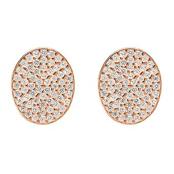 Oval disc Earring