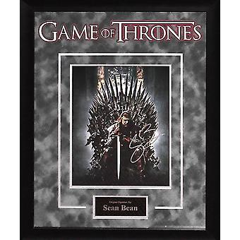 Game of Thrones - Signed by Sean Bean - Framed Artist Series