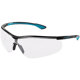 Safety glasses Uvex sportstyle 9193376 Black, Gre