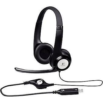 PC headset USB Corded, Stereo Logitech H390 Over-t