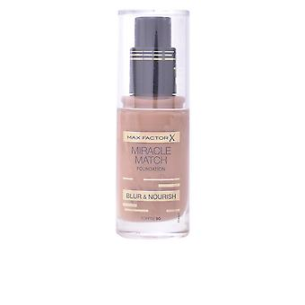 Max Factor Miracle Match Blur And Nourish Foundation Toffee Womens Make Up