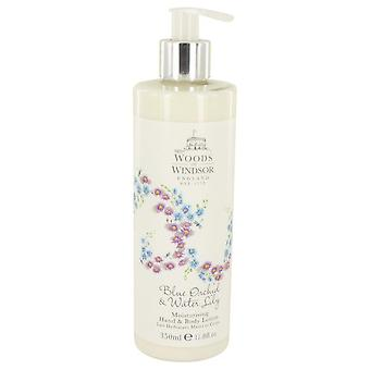 Blue Orchid & Water Lily Body Lotion By Woods of Windsor