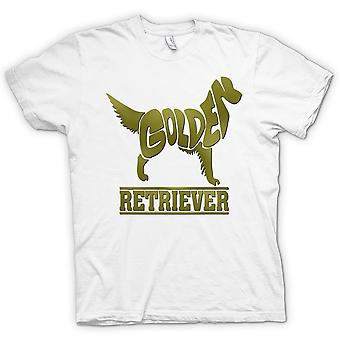 Womens T-shirt - Golden Retriever