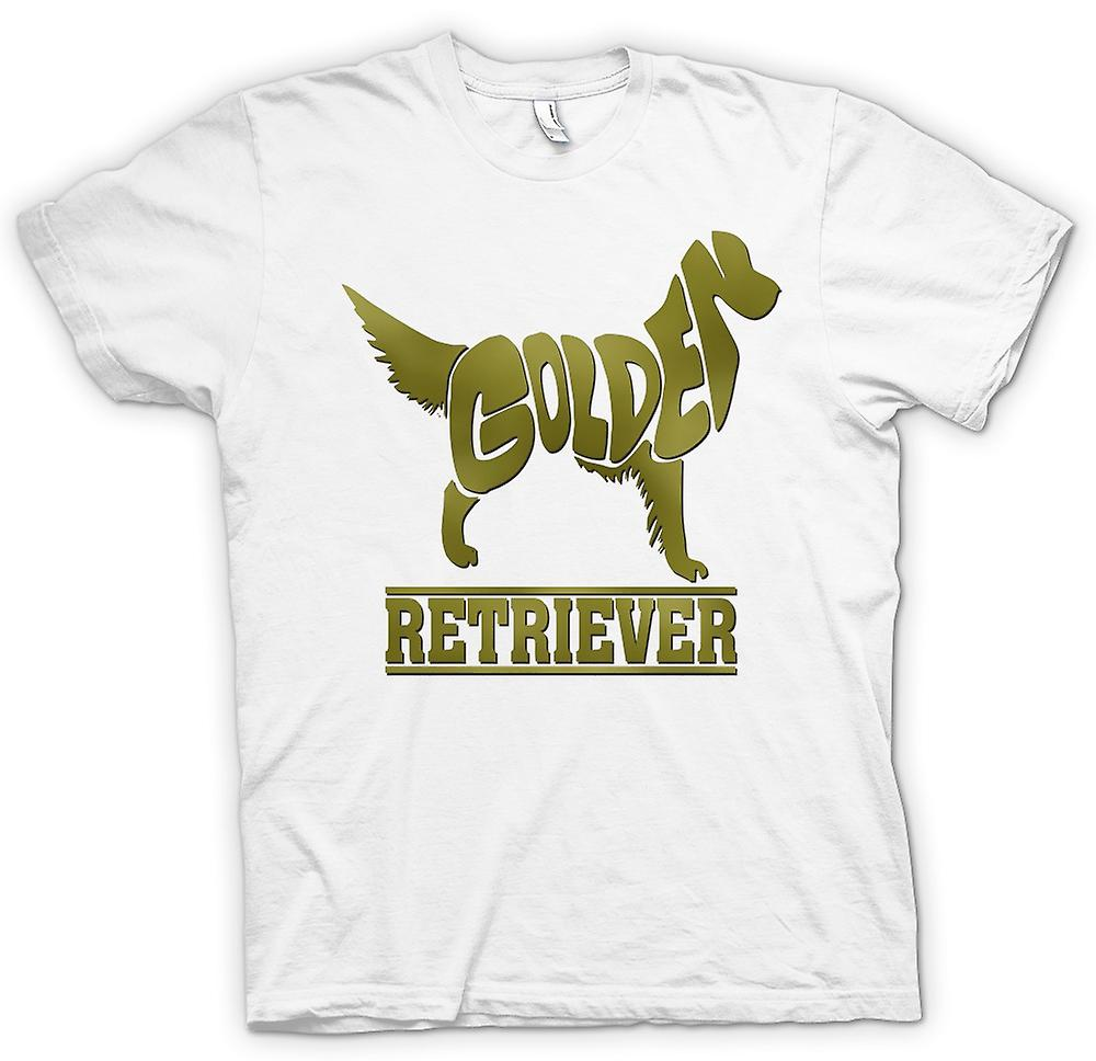 Womens T-shirt-Golden Retriever