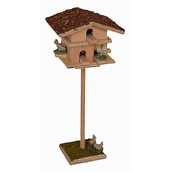 Nativity accessories stable Nativity set with Dovecote and pigeons