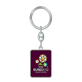 Euro 2012 Square Key Ring