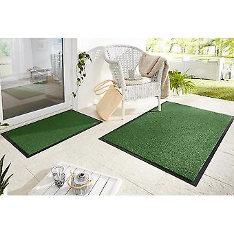 Captura la suciedad alfombras mat cepillo jardín verde