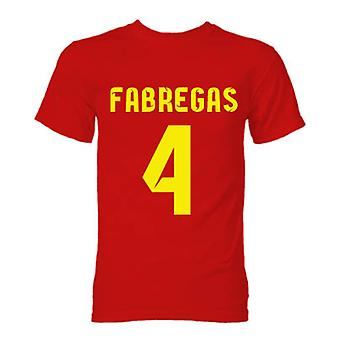 Barcelona Cesc Fabregas Hero T-Shirt (Red)
