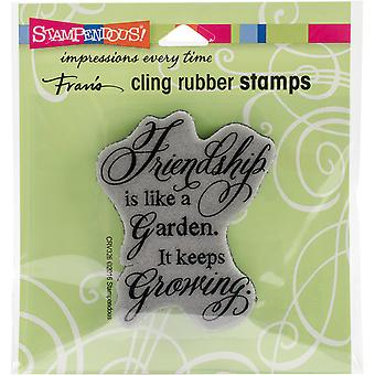 Stampendous Cling Stamp 3