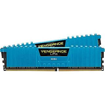 Corsair PC-RAM Kit Rache® LPX Blue CMK16GX4M2B3000C15B 16 GB 2 x 8 GB DDR4 RAM 3000 MHz CL15 17-17-35