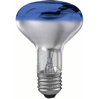 Paulmann Light bulb EEC: E (A++ - E) 230 V E27 60 W Blue Reflector bulb dimmable Content 1 pc(s)