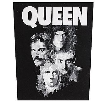 Queens Faces Large Sew-On Cloth Backpatch