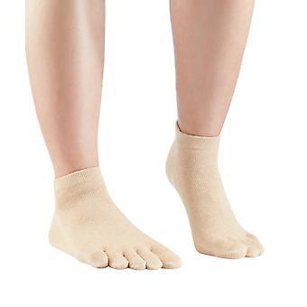 Knitido Organics Sneaker, kurze Zehensocken aus ungefärbter, organischer Baumwolle