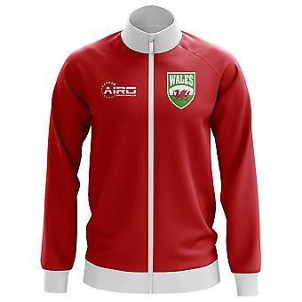 Wales Concept voetbal Track Jacket (rood) - Kids
