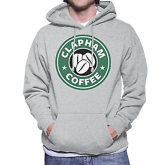 Clapham Coffee Starbucks Men's Hooded Sweatshirt