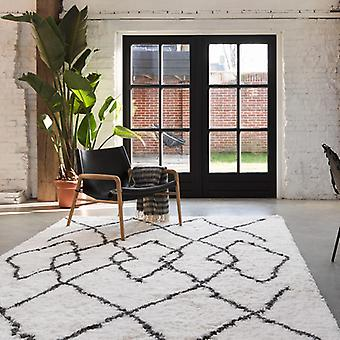 Rugs -B&S Afella - 5965/695  Anthracite & White