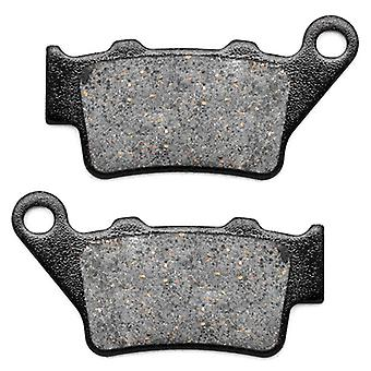 KMG 2002-2006 Husqvarna SM 610/S (4 bolt front disc) Rear Non-Metallic Organic NAO Disc Brake Pads