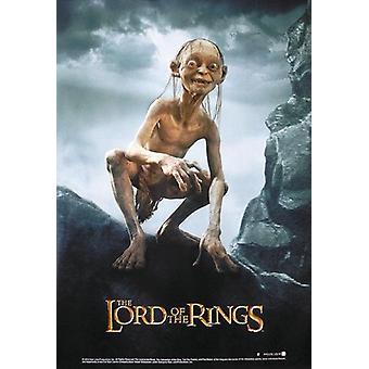 LOTR posters lachend de twee torens, Gollum (Sméagol)