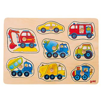 Veículos de quebra-cabeça de bolha