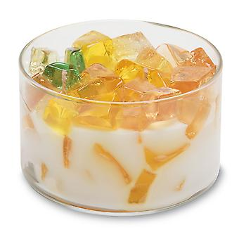 Primal Elements 2-Wick Color Bowl Candle Sweet Tea